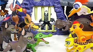 My friend disappeared! Lion Guard! Rescue Bunga in Hyena's Hideout jail!! - DuDuPopTOY thumbnail