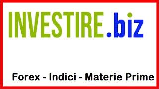 Video Analisi forex, Indici, Materie Prime - Investire.biz - 19.01.2015