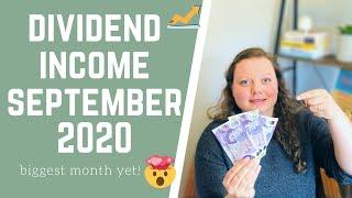 Dividend Income September 2020 | Passive Income Report | Dividend Income UK