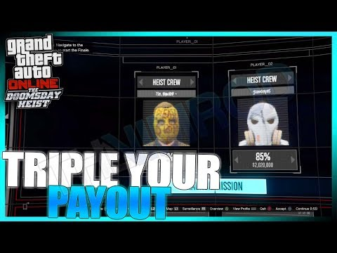 How To TRIPLE YOUR PAYOUT For The Doomsday Heist ACT III! (GTA Online)