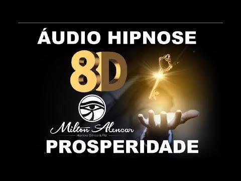 🔴 Áudio Hipnose 8D 🎧 - Programação Mental - PROSPERIDADE - Milton Alencar