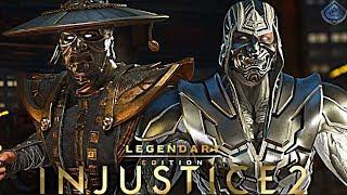 Injustice 2 Online - EPIC NEW SAMURAI GEAR!