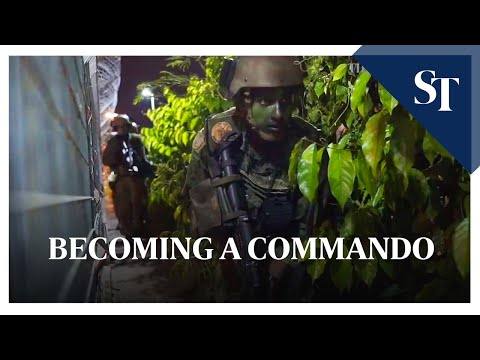 Becoming A Singapore Armed Forces Elite Soldier | The Straits Times