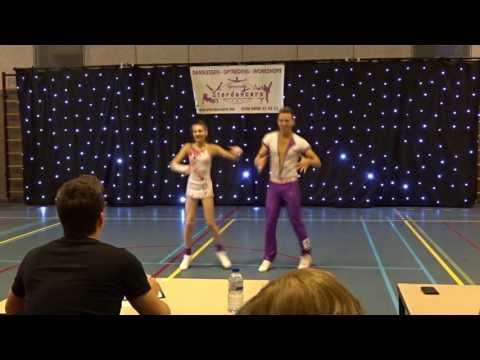 Wedstrijd Stardancers 22.01.2017, Ben Stassen & Minne Geladi Footwork