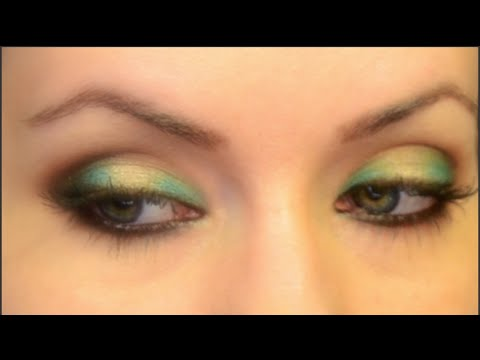 Make Your Eye Color Pop For Gold And Blue Eyes Makeup Tutorial Youtube
