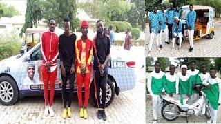 Wayanda suka lashe kyautar mota Napep da lifan a gasar Buhari dodar sun karbi kyautukan su