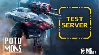 COMO DESCARGAR TEST SERVER   WAR ROBOTS