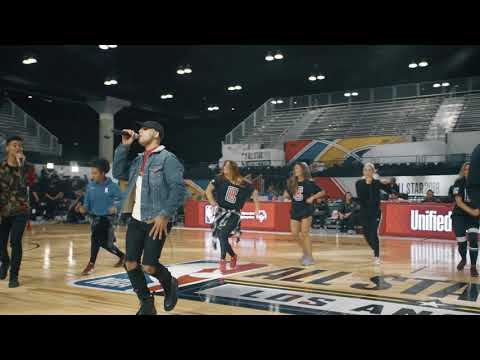 Behind The Scenes w/ 4th Ave x NBA All Star Celeb Game Rehearsals