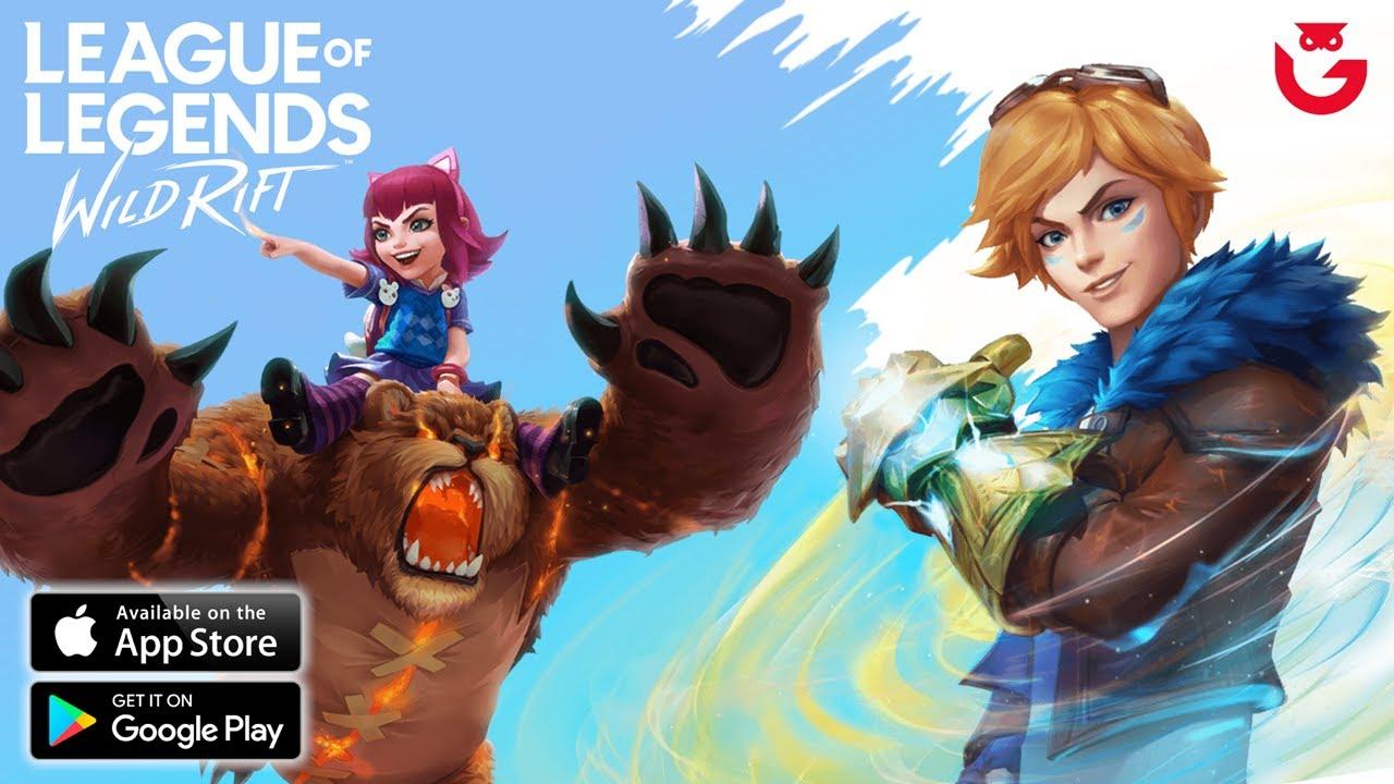 LOL Mobile - Review Semua Hero & Skin League of Legends Wild Rift Indonesia