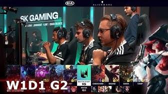 SK Gaming vs Vitality | Week 1 Day 1 S10 LEC Spring 2020 | SK vs VIT W1D1