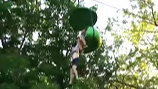 Crowd catches girl falling from amusement park ride thumbnail