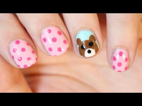 Teddy Bear Nail Art | TotallyCoolNails