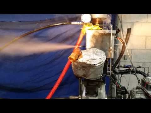 Making Superheat Steam using Cavitation Energy