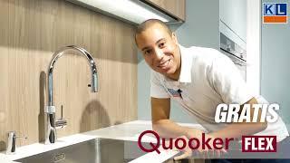 Een gratis Quooker Flex bij aankoop van jouw droomkeuken! Keukenloods.nl