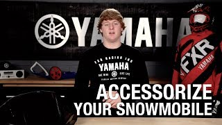 Accessorize Your Snowmobile - Yamaha Parts & Accessories