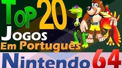 TOP 20 JOGOS EM PORTUGUÊS - NINTENDO 64 [+Down]