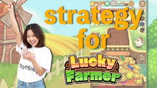 Let's learn the strategy for 【Lucky Farmer】 with Olivia screenshot 5