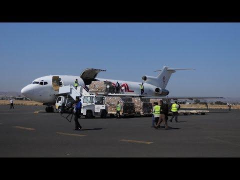 Wheat and vaccines arrive in war-torn Yemen after blockade