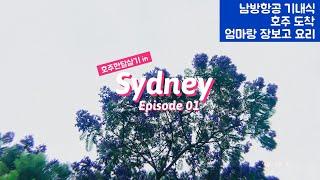 [호주 한달살기]남방항공,광저우경유, …