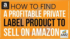 How to Find a Profitable Private Label Product to sell on Amazon, w/AMZ Trainer's Ahamed