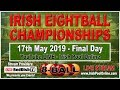 Festival of Pool 2019 Final Day- Inter-County Team and Singles, Gleneagle Hotel, Killarney