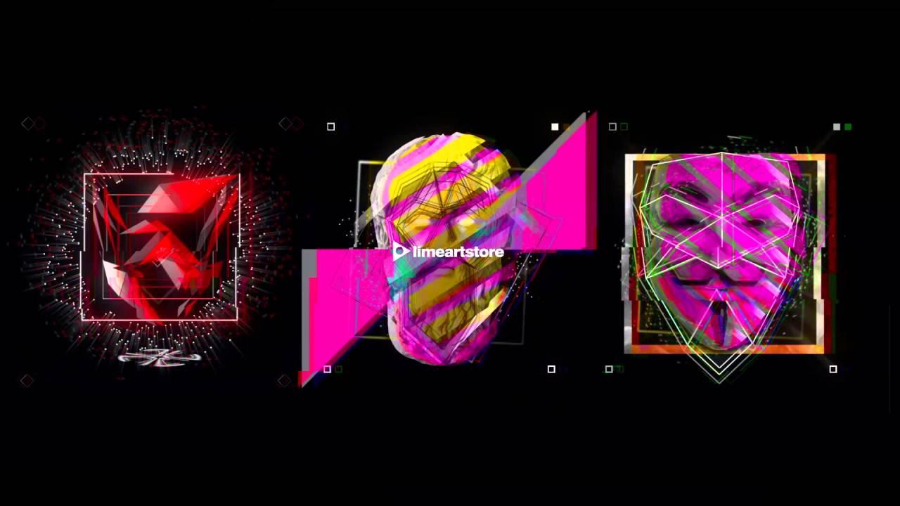 Glitch Team - VJ Loop, VJ Clip, Stock Footage Video: HD  EDM