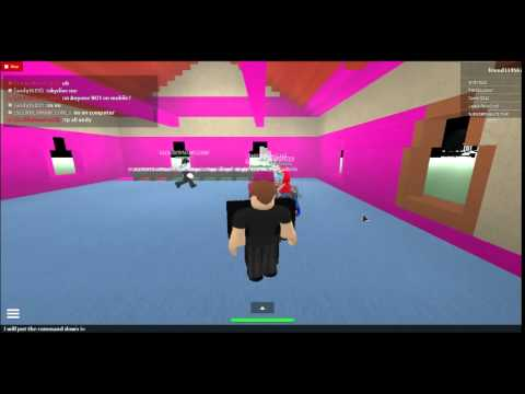 Roblox Kohls Admin House Take Over Server Tutorial Doovi