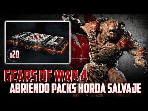 Gears of War 4 | Abriendo 20 Feral Horde Packs | ¿Valen la pena?