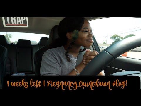 THIS WEEK WAS A JOKE! | 7 WEEKS LEFT | PREGNANCY COUNTDOWN VLOG
