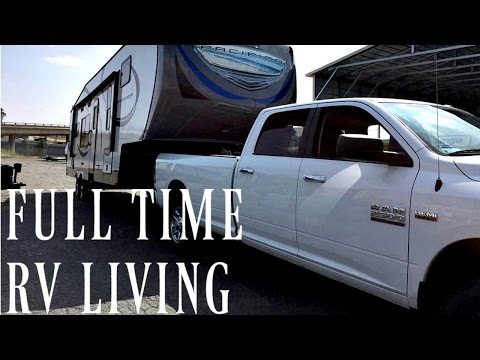 FULL TIME RV LIVING: Our Fifth Wheel