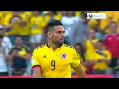 Volvio el Tigre Falcao - Colombia vs Chile 0-0 - 10/11/2016 - Eliminatorias Rusia 2018