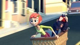 Невезучий Дженкинс и Везучая Лу  - лучший короткометражный мультфильм про любовь
