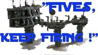 Clone Wars MOC -  Echo & Fives Sniping (Season 3 Episode 2 ARC Troopers)