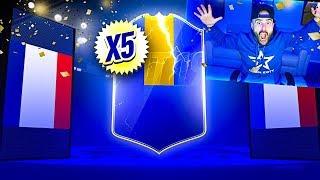 OMG 5 GUARANTEED ULTIMATE TOTS PACKS!!! FIFA 19 Ultimate Team