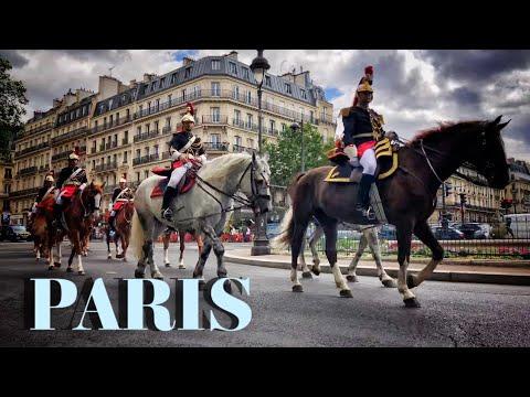 "🇫🇷 WALK IN PARIS""BOULEVARD SAINT MICHEL"" (EDIT VERSION) 10/07/2021"