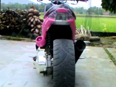 modif mio sporty lowrider  paling bagus