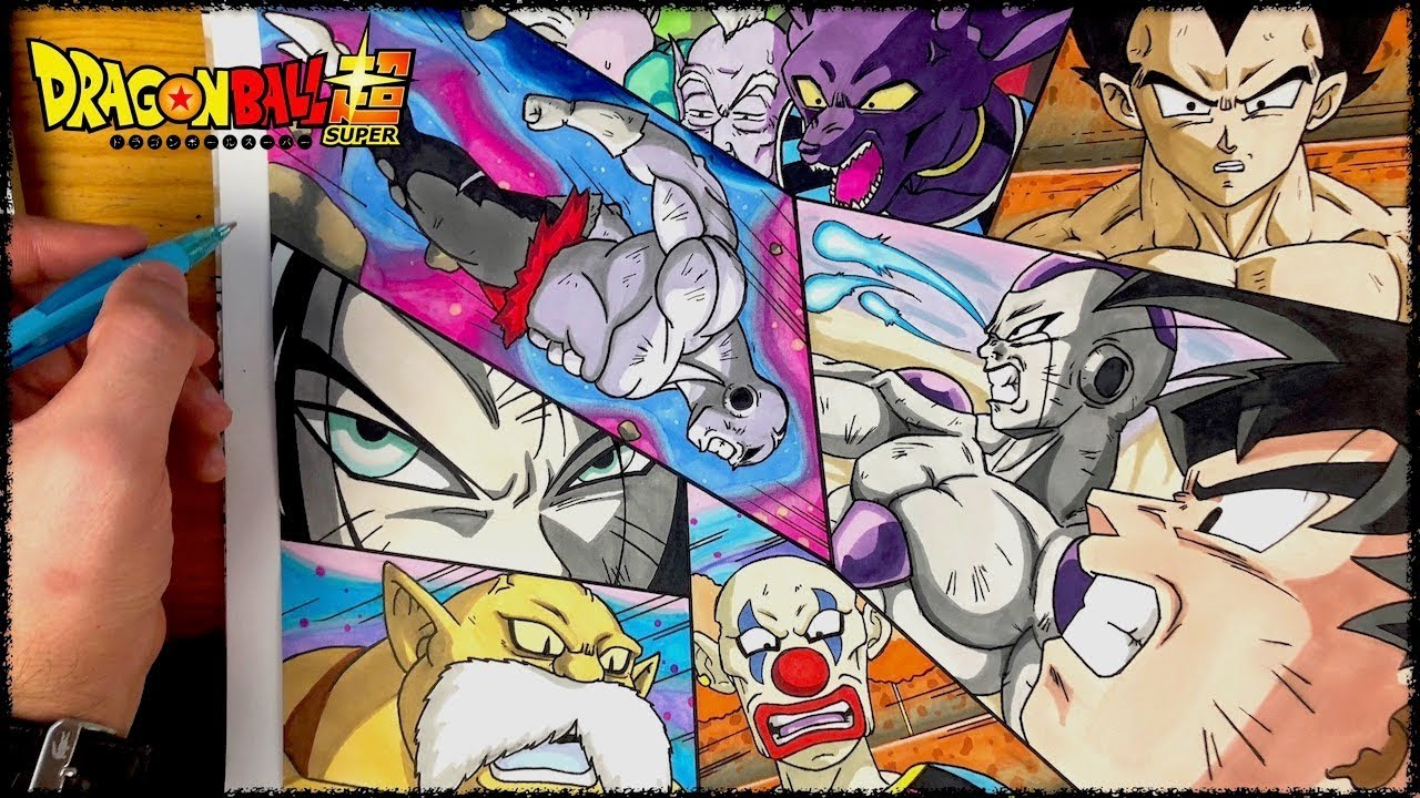 Dessin Dragon Ball Super 131 Youtube