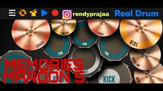 Memories-Maroon 5 || Real Drum cover