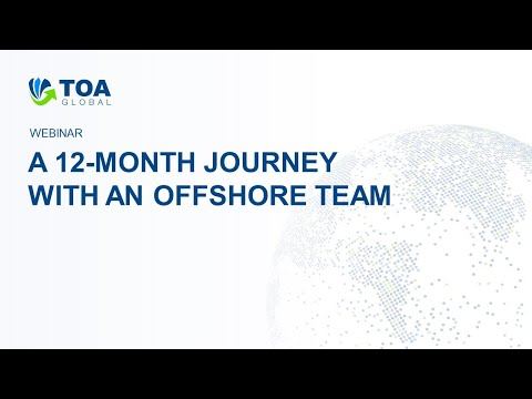 A 12 Month Journey With An Offshore Team