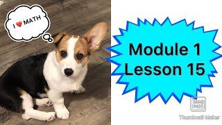 Module 1 Lesson 15