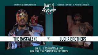 PWG - Preview - 2018 Battle of Los Angeles - Night Three