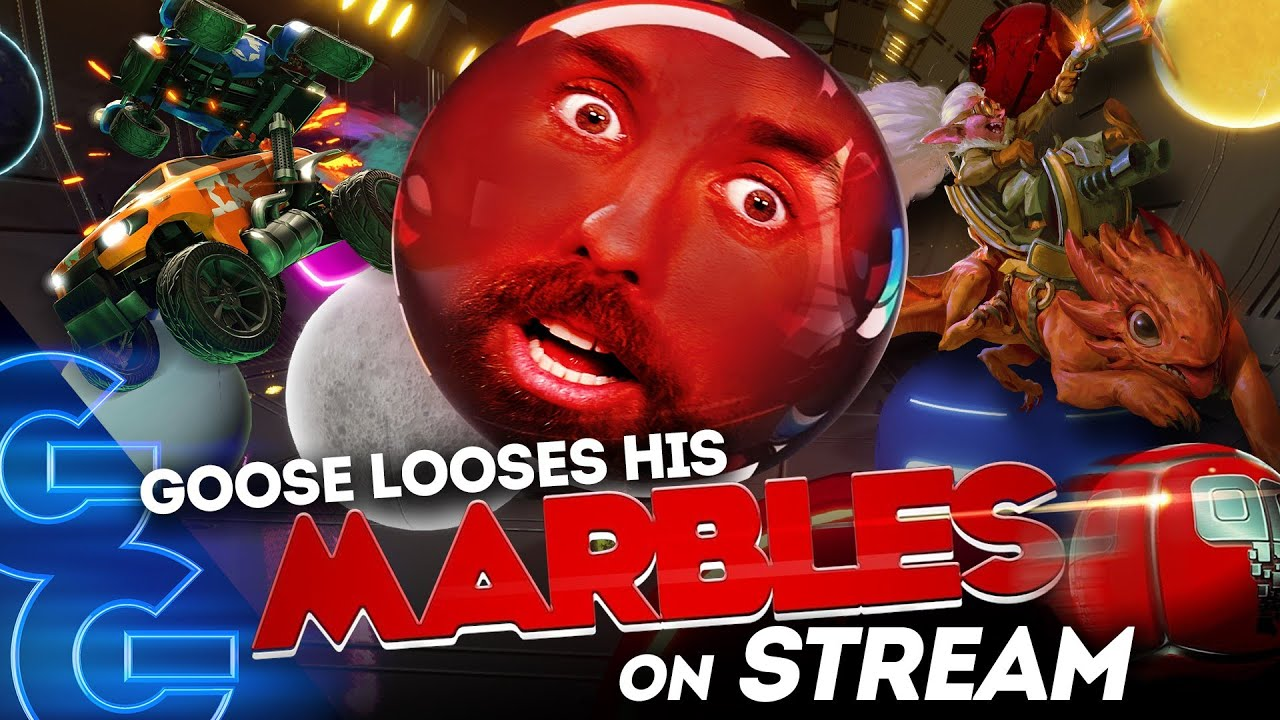 GOOSE LOSES HIS MARBLES (AND HIS JOB) ON STREAM!