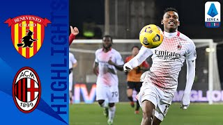 Benevento 0 2 Milan Kessie and Leão Take Milan To Victory Serie A TIM
