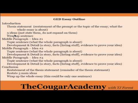 passing ged essay If you don't have a high school diploma, consider taking the ged (general educational development) exam the ged is a series of four tests (covering language arts, social studies, science, and math) that evaluate your abilities at the high school level if you pass the test, you earn a high school.