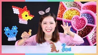 凱利DIY恐龍水霧魔珠趣味遊戲 | 凱利和玩具朋友們 | 凱利TV