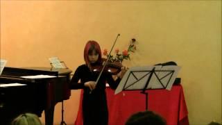 Antonia Sibila - Friedrich Seitz - Concertino in G-dur - 1. Satz