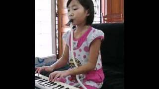 """Victoria Lee performing """"The Tiresome Woodpecker"""" on Pianica"""