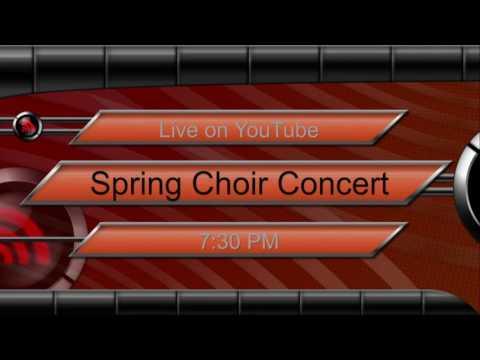 2016 Spring Choir Concert