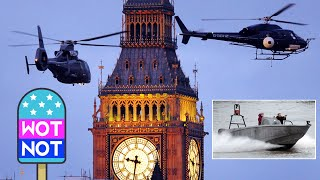 SPECTRE: Speedboats, Guns, Helicopters and Big Ben! Filming the new James Bond movie