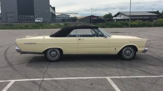 Ford Galaxie 500 XL Convertible 1965. Såld